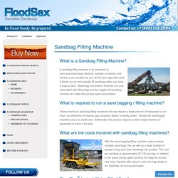Find Supplier Of sand Bags for flooding – FloodSax Sandless Sandbags North America