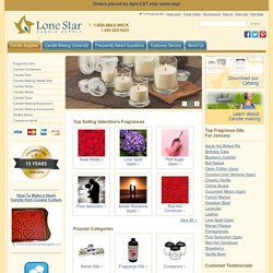 Candle Making Supplies: Wax, Molds, Scents, and Dyes - LoneStarCandleSupply.com