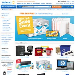 Walmart - Office Supplies