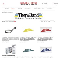 Theraband Products - Goldenhorsemedicalsupplies