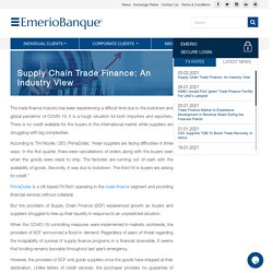 Supply Chain Trade Finance: An Industry View