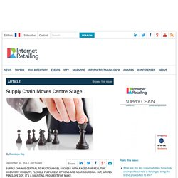 3.4.5 Supply Chain Moves Centre Stage