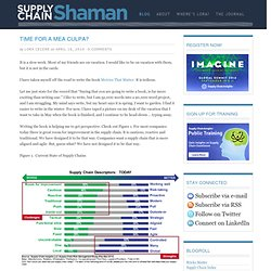 Supply Chain Shaman | Lora Cecere – Supply chain excellence
