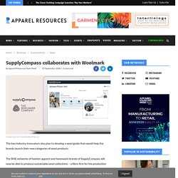 SupplyCompass collaborates with Woolmark