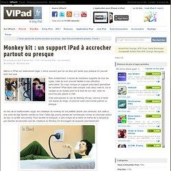 Monkey kit : un support iPad à accrocher partout ou presque - iPad mini, iPad Retina