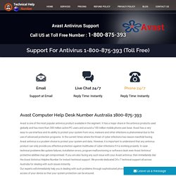 Avast Support Number Australia 1800-875-393 Avast Helpline