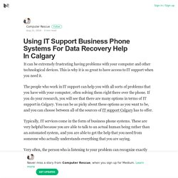 IT Support Calgary