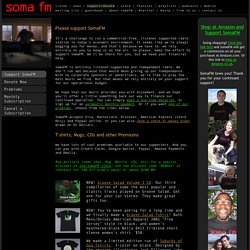 SomaFM: Support Commercial-Free Internet Radio