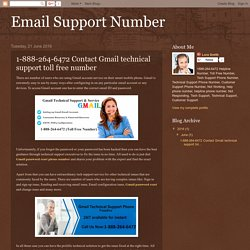 1-888-264-6472 Contact Gmail technical support toll free number