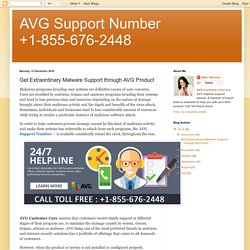 AVG Support Number +1-855-676-2448: Get Extraordinary Malware Support through AVG Product