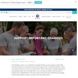 Support Important Charities