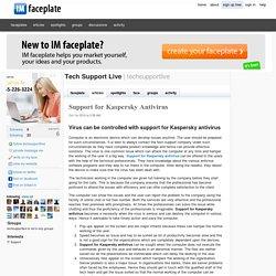 Support for Kaspersky Antivirus