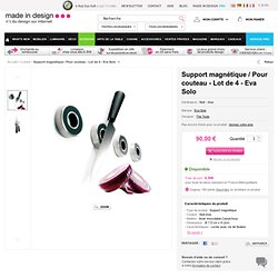 Jeu de 4 anneaux magnétiques Eva Solo- The Tools