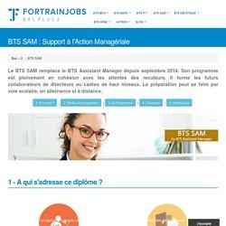 BTS Support Action Managériale (SAM) = Ancien BTS Assistant Manager (AM)