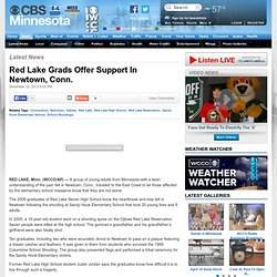Red Lake Grads Offer Support In Newtown, Conn.