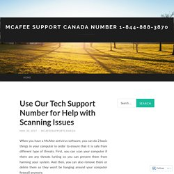 Use Our Tech Support Number for Help with Scanning Issues