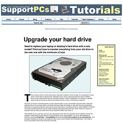Support PCs Tutorial