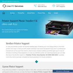 Printer Support Number UK 0800-098-8352 Printer Help Number UK