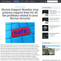 Norton Support Number your primary support base for all the problems related to your Norton Security
