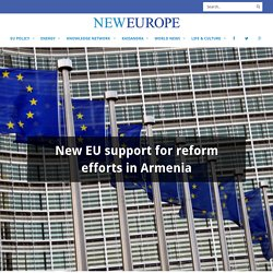 New EU support for reform efforts in Armenia