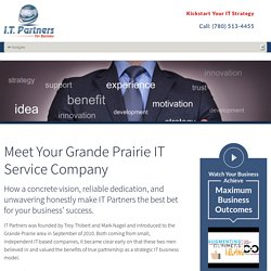IT Support Grande Prairie
