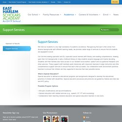 Support Services « East Harlem Scholars
