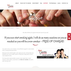 Support - Quit Smoking Wollongong