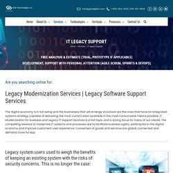 Legacy IT support in Raleigh
