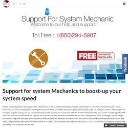 Support for System Mechanic
