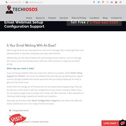 Email Setup and Support Toronto - Webmail, Gmail, Outlook