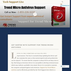 Support for Trend Micro