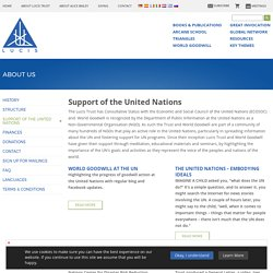Support of the United Nations