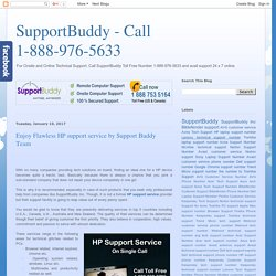 SupportBuddy - Call 1-888-976-5633: Enjoy Flawless HP support service by Support Buddy Team