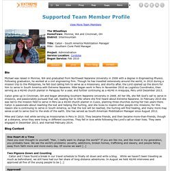Supported Team Member Details (127) - Extreme Nazarene Missions