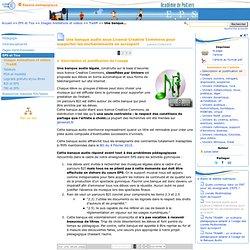 Une banque audio sous Licence Creative Commons pour supporter les enchainements en acrosport - Page 1/4 - Education physique et sportive