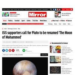 The Moon of Mohammed