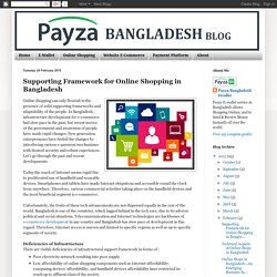 Empowering Framework for Online Shopping in Bangladesh at a Glimpse
