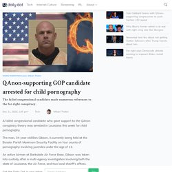 QAnon-Supporting GOP Candidate Arrested For Child Porn