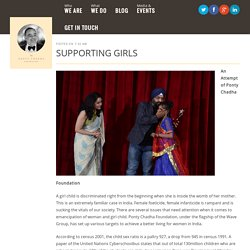 Supporting Girls Contribution by Ponty Chadha Foundation