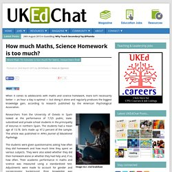 UKEdChat - Supporting the Education Community