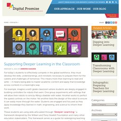 Supporting Deeper Learning in the Classroom – Digital Promise
