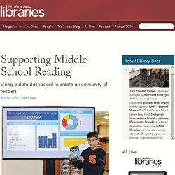 Supporting Middle School Reading