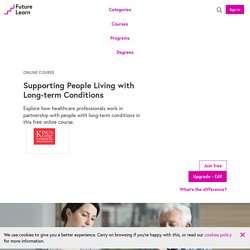 Supporting People Living with Long-term Conditions - Online Course