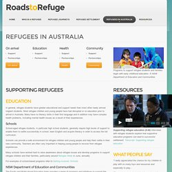 Supporting refugee education