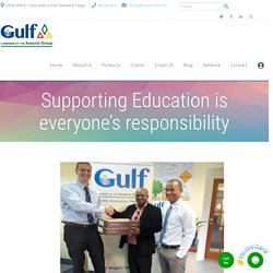 Supporting Education is everyone's responsibility - Best Insurance Company Trinidad & Tobago - Gulf Insurance Limited