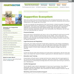 Supportive Ecosystem - FourthSector.net