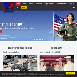 SupportOurTroops.org - Your place to connect, support, donate