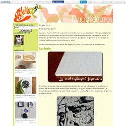 Les supports à graver - Belette Print, Linogravure
