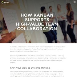 How Kanban Supports High-Value Team Collaboration - LeanKit