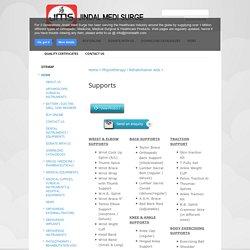 Supports - Jindal Medi Surge
